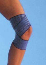 Zavoj elastični sa trakama plavi