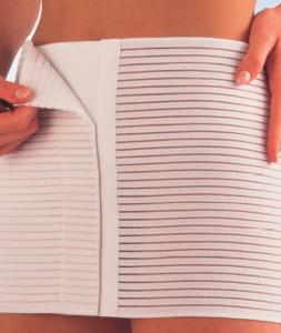 Pojas za stomak - postoperativni na čičak 24 cm