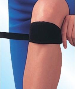 Traka za koleno sa silikonom
