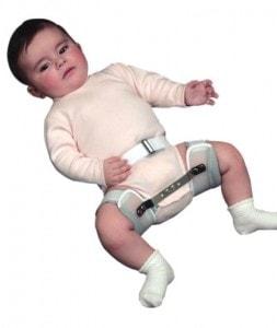 Ortoza kuka za bebe (Dennis Brown splint)