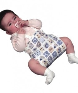 Ortoza kuka za bebe - abdukciona (Frejka splint)