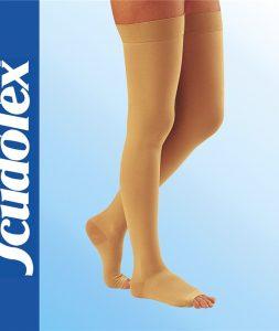 Kompresivne medicinske čarape za vene do prepona K3